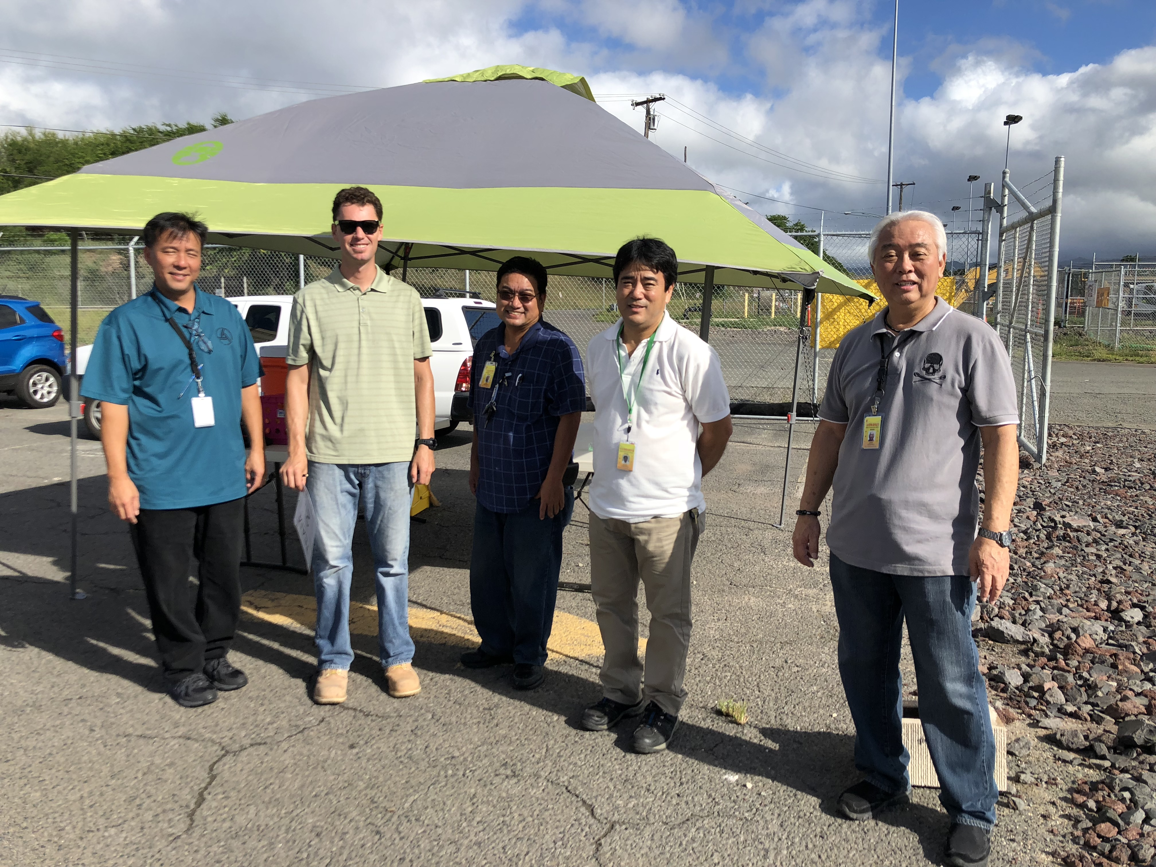 HNL Fall Cleanup 2018 - Recycle Drive