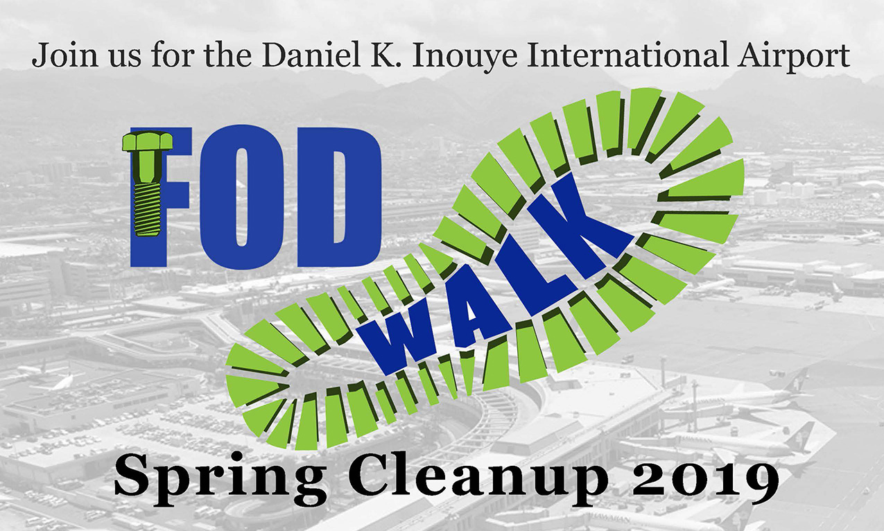 2019 Spring FOD Walk - Video