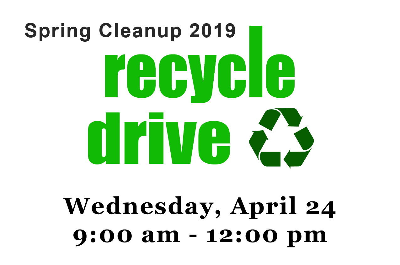 2019 Spring Recycle Drive - Video