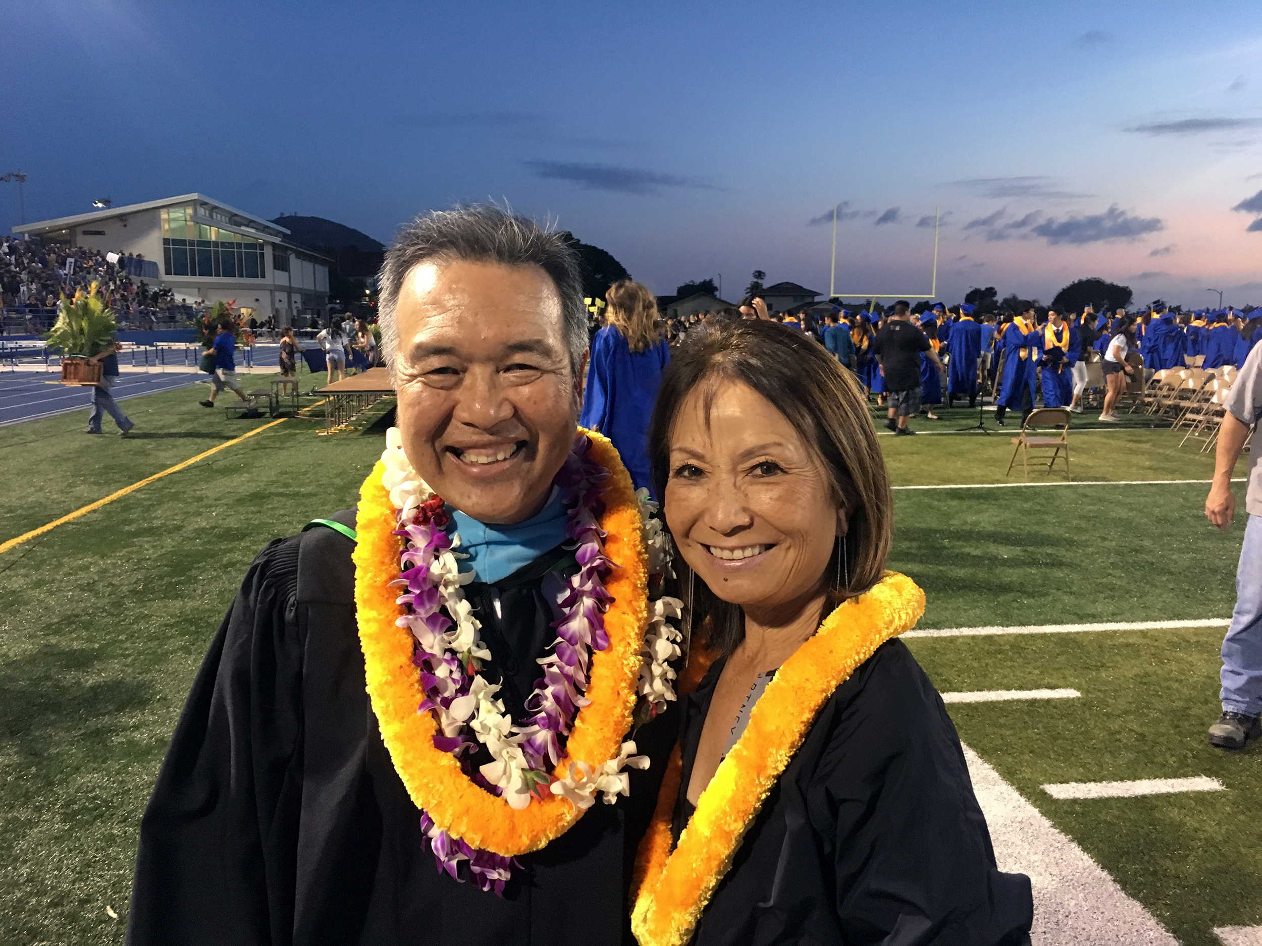 KYA's CEO, Carol Torigoe invited to and honored at the Kaiser High School Class of 2019 Graduation Ceremony.
